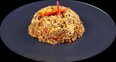 Жаренный рис Наси Горенг