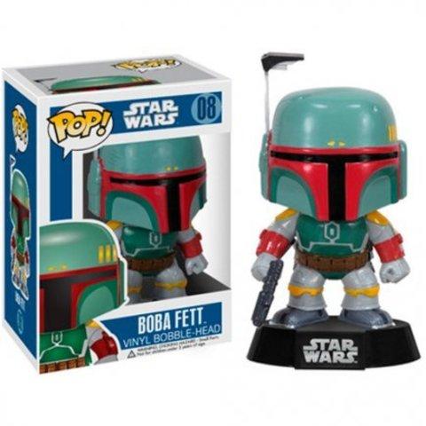 Фигурка Funko Pop Боба Фетт - Звездные войны (Star Wars - Boba Fett)