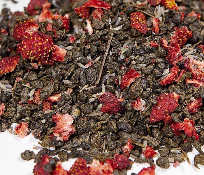 TEA-AR130 Натуральный чай «Лавандовый Ган» с клубникой (50 гр) фото 03