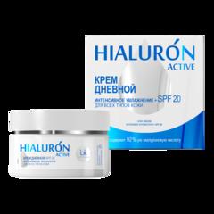 Крем дневной интенсивное увлажнение + SPF 20 · для всех типов кожи, 48 г  HIALURON ACTIVE