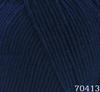 Пряжа Himalaya Everyday Bebe Lux 70413 (тёмно-синий)