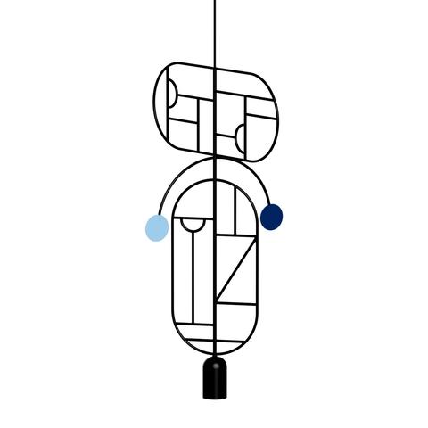 Подвесной светильник копия Lines & Dots LDS09 by Home Adventures