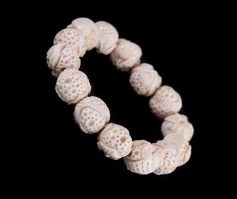 Браслет из бивня мамонта «Резные шарики»