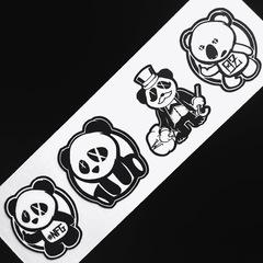 Wick'D Sticker & Car Decal