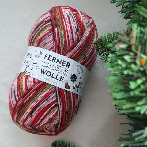 Ferner Wolle Mally Socks Weihnachts 22 купить