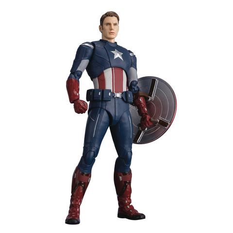 Фигурка S.H.Figuarts Avengers: Endgame Captain America Cap Vs Cap Edition