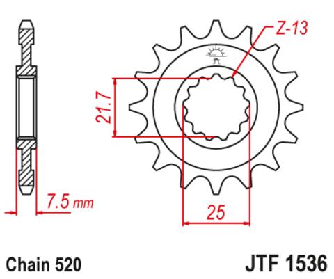 JTF1536