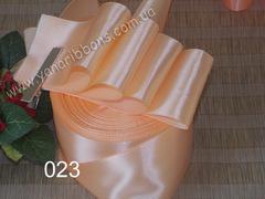 Лента атласная шириной 2,5см персиковая - 023
