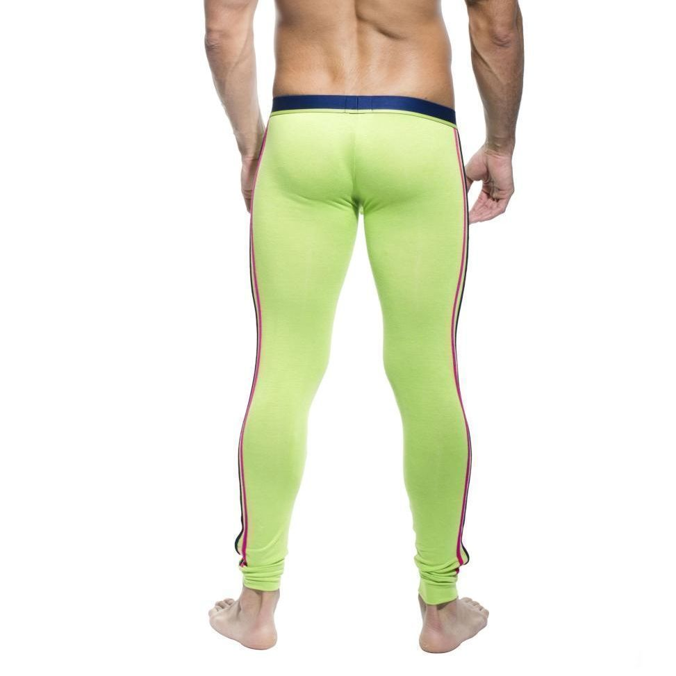 Мужские кальсоны зеленые Andrew Christian Long John Glow  Green   AC89