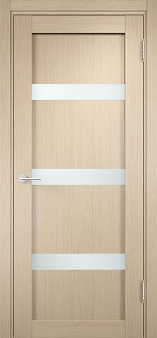 Дверь Верона 04 (беленый дуб, остекленная экошпон), фабрика Casa Porte