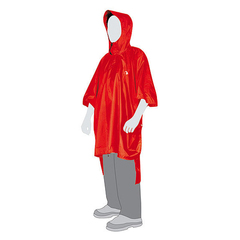 Плащ дождевик Tatonka Poncho 3 XL-XXL red
