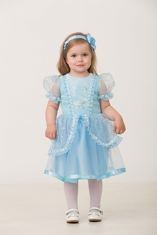 Карнавальный костюм Принцесса Золушка малышка