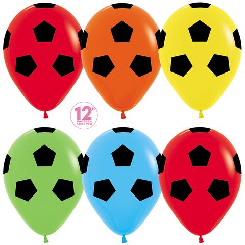 Воздушные шары футбол
