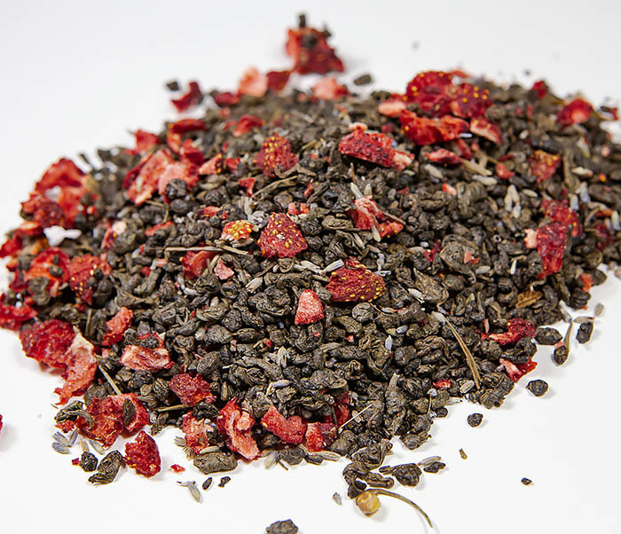 TEA-AR130 Натуральный чай «Лавандовый Ган» с клубникой (50 гр) фото 05