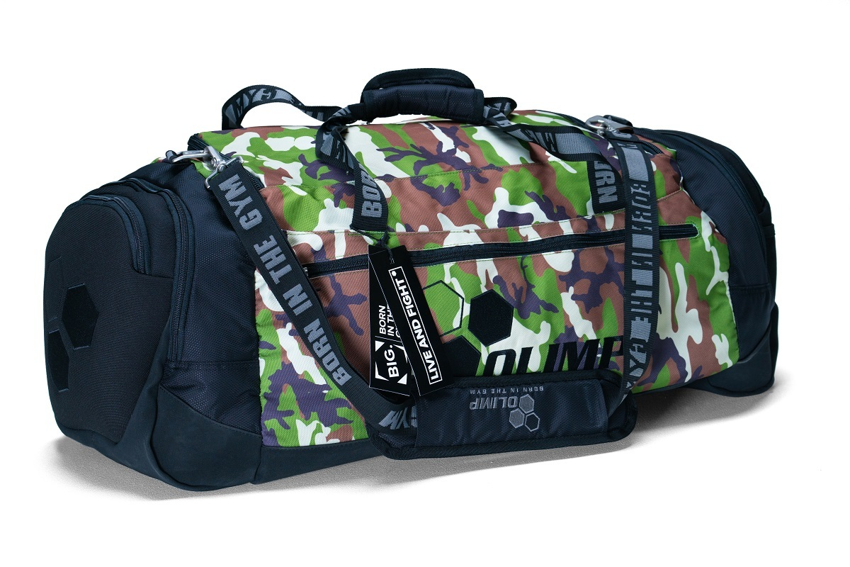 Сумка Olimp MULTIFUNCTIONAL BIG DUFFEL BAG CAMO&BLACK
