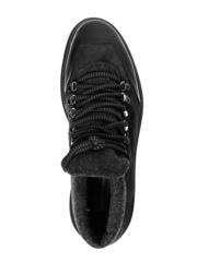 Замшевые ботинки Luca Guerrini 9291 коричневые на меху