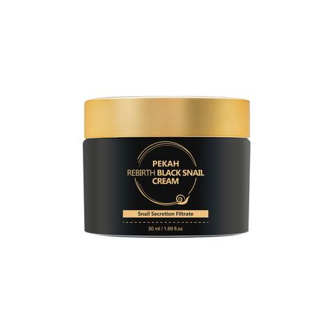 Pekah Крем с муцином Черной Улитки Rebirth Black Snail Cream, 50ml