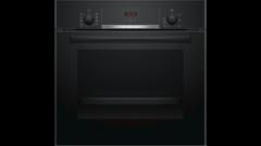 Духовой шкаф встраиваемый Bosch 60x60 cm черный HBF514BB0R фото