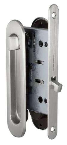 Ручка с заверткой для раздвижных дверей SH011-BK SN-3