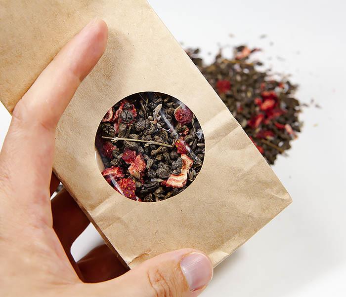 TEA-AR130 Натуральный чай «Лавандовый Ган» с клубникой (50 гр) фото 06