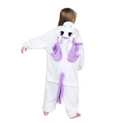 Кигуруми единорог бело-фиолетовый