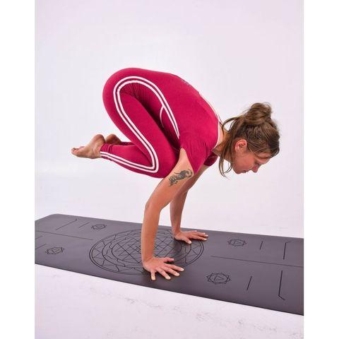 Каучуковый коврик для йоги Sri Yantra 185*68*0,4 см