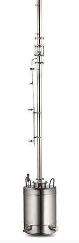 Ректификационная колонна AquaGradus Альфа - комплект 50 л - соединение фланец