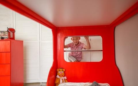 Двухъярусная кровать Автобус Лондон