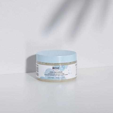 Скраб-пенка с морской солью  «Глубокое очищение и детокс» cleansing scalp scrub