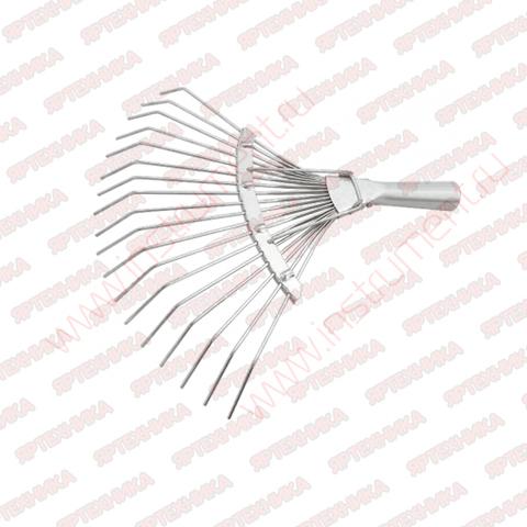Грабли веерные 18 зубьев Сибртех в интернет-магазине ЯрТехника
