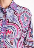 Рубашка из хлопка и шелка ETRO