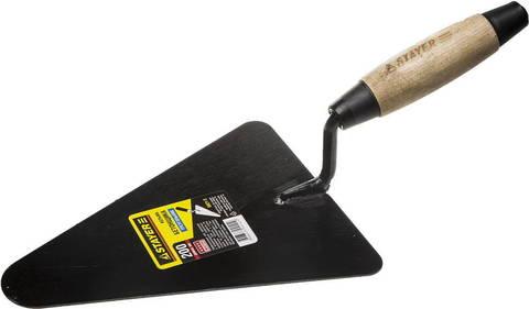 Кельма бетонщика STAYER с деревянной усиленной ручкой КБ