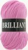 Пряжа Vita Brilliant 4956 (Розовый леденец)