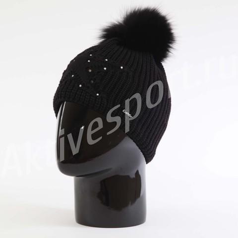 Картинка шапка Eisbar chantal fur crystal 009 - 1