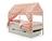 Кровать-домик SVOGEN с текстильной крышей