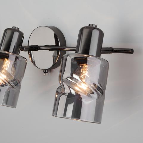 Настенный светильник с выключателем 20120/3 чёрный жемчуг