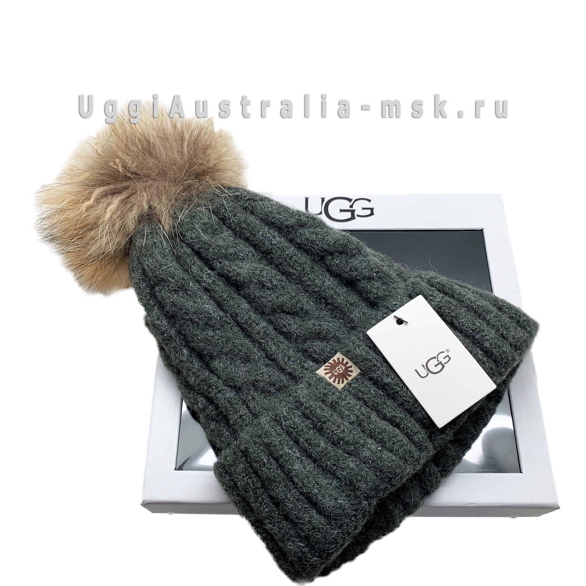 UGG Cap Dark Grey