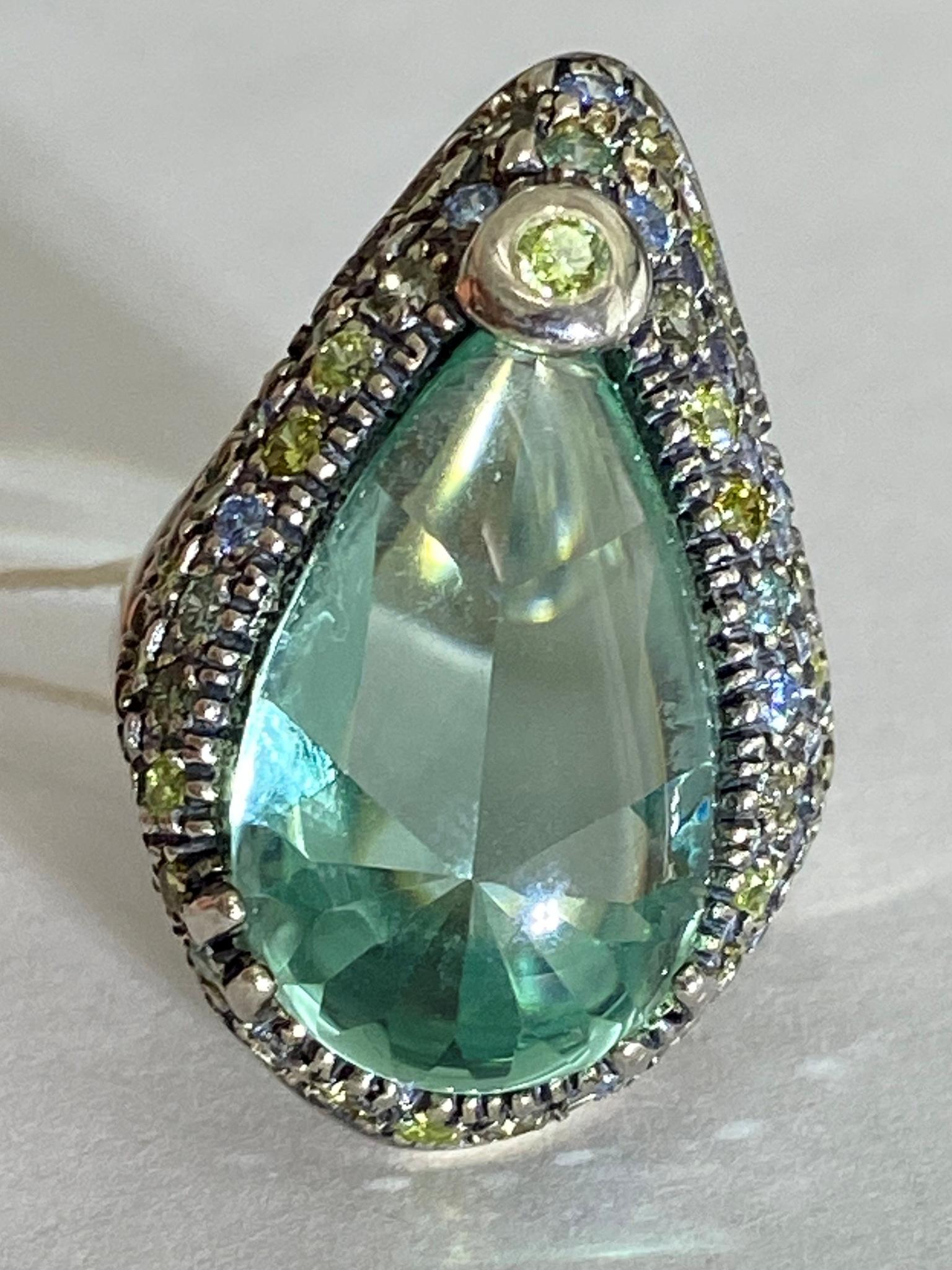 Раджа (кольцо из серебра)