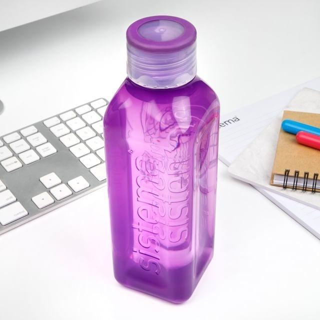 """Бутылка для воды Sistema """"Hydrate"""" 1л, цвет Фиолетовый"""