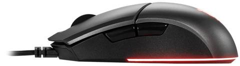 Мышь MSI Clutch GM11 черный оптическая (5000dpi) USB (6but)