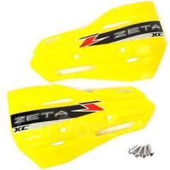 Лопухи для защиты рук Zeta XC, желтый, ZE72-3107