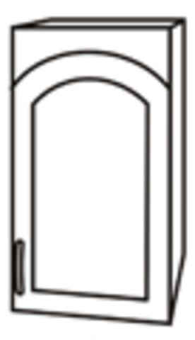 Чили ШВС 400 шкаф верхний со стеклом