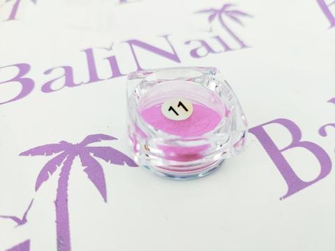 Термо-пигмент для дизайна ногтей (фуксия) #11