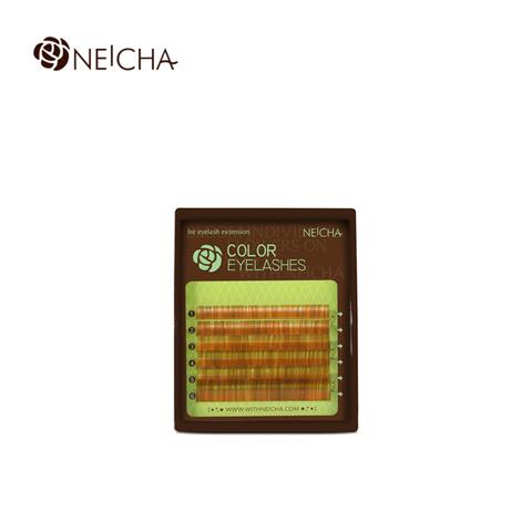 Ресницы NEICHA нейша колорированные 6 линий Brown