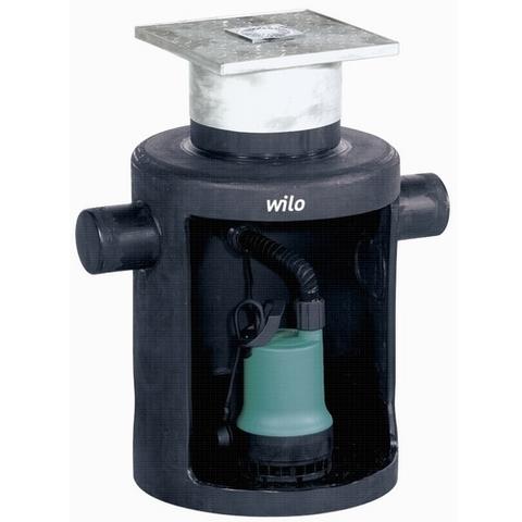 Напорная установка для отвода загрязненной воды Wilo-DrainLift Box 40/10