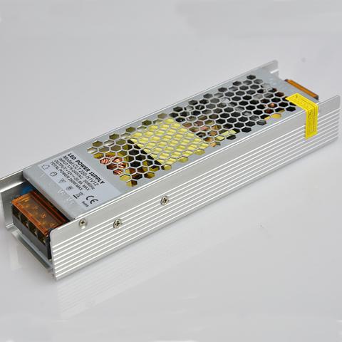 Блок питания 240Вт, 12В, IP23 Узкий, для светодиодных лент и модулей