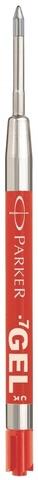 Cтержень гелевый  Parker Gel Pen Refill M, размер: средний, цвет: красный123