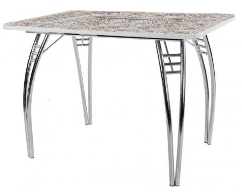 Стол обеденный  ПАУК  пластик ALVIC