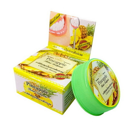 Зубная паста с экстрактом ананаса Роджана Rochjana Herbal Pineapple 30 гр.