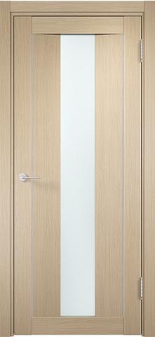 Дверь Сицилия 02 (беленый дуб, остекленная экошпон), фабрика Casa Porte